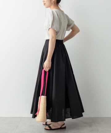 Omekashi(オメカシ) リネンボリュームスカート