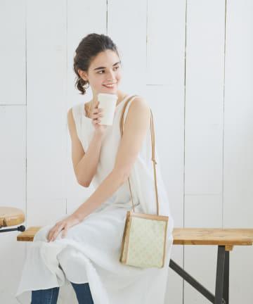 Daily russet(デイリー ラシット) 二重織り ミニショルダーバッグ