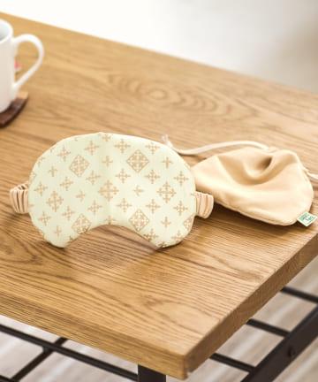 Daily russet(デイリー ラシット) 【リラックス睡眠に】二重織り コンパクトアイマスク