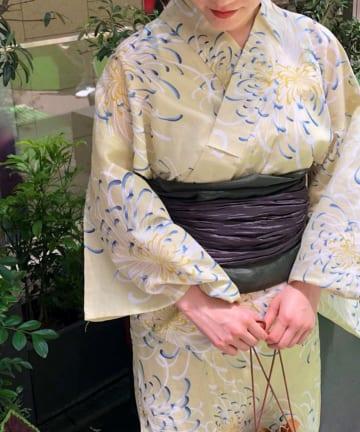 CIAOPANIC TYPY(チャオパニックティピー) 【OSORO】菊柄浴衣SET