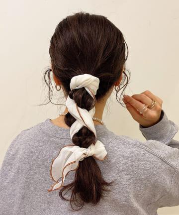 Lattice(ラティス) パイピング三角スカーフ