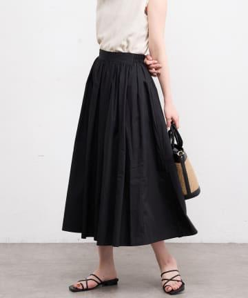 natural couture(ナチュラルクチュール) 40ブリードたっぷりギャザーフレアスカート