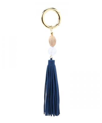 Pal collection(パルコレクション) 《Bag Charm》マーブルフリンジチャーム
