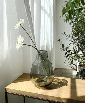 CAPRICIEUX LE'MAGE(カプリシュレマージュ) 〈WEB・一部店舗限定〉ガラスフラワーベース フィルターS
