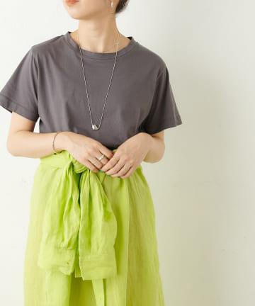 Omekashi(オメカシ) オーガニックコットンクルーTシャツ