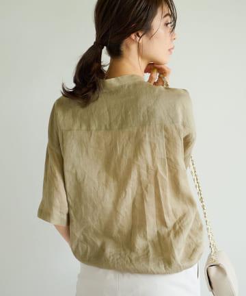 La boutique BonBon(ラブティックボンボン) 《予約》ラミードロストシャツ
