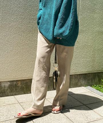 DOUDOU(ドゥドゥ) サテンイージーセンプレパンツ2