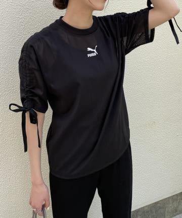 CAPRICIEUX LE'MAGE(カプリシュレマージュ) 【PUMA/プーマ】メッシュTシャツ