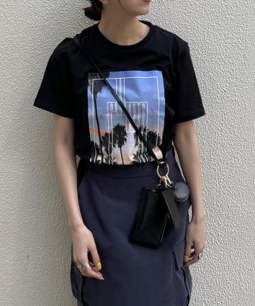 CAPRICIEUX LE'MAGE(カプリシュレマージュ) 【PUMA/プーマ】グラフィックPHOTO Tシャツ
