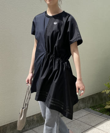CAPRICIEUX LE'MAGE(カプリシュレマージュ) 【adidas/アディダス】異素材ドロストTシャツ