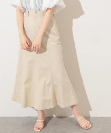 natural couture(ナチュラルクチュール) カーゴPKマーメイドスカート