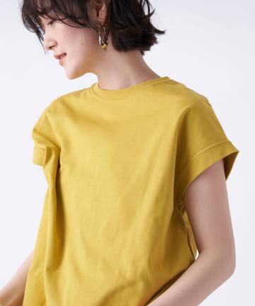 un dix cors(アンディコール) 《予約》【《暑い時期に大活躍》洗える】汗染み防止クルーネックフレンチTシャツ