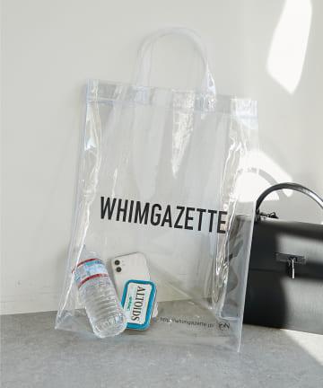 Whim Gazette(ウィム ガゼット) PVCロゴトート
