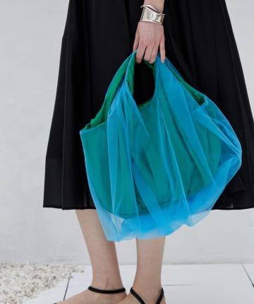 DOUDOU(ドゥドゥ) 【HELOYSE/エロイーズ】balloon tulle bag S