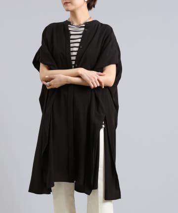 DOUDOU(ドゥドゥ) バックタックチュニックシャツ