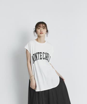 RIVE DROITE(リヴドロワ) 【大人のロゴTシャツ】MONTECARLOフレンチTシャツ