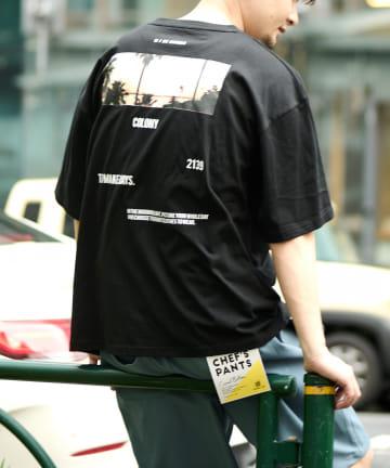 COLONY 2139(コロニー トゥーワンスリーナイン) 2139 Tシャツ/ビッグシルエット・PHOTO Tシャツ(ユニセックス可)
