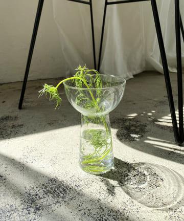 CAPRICIEUX LE'MAGE(カプリシュレマージュ) 〈WEB・一部店舗限定〉リューズガラス フラワーベース タスS