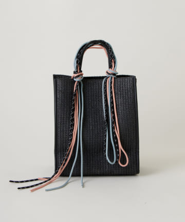 Kastane(カスタネ) コード紐付きジュートバッグ