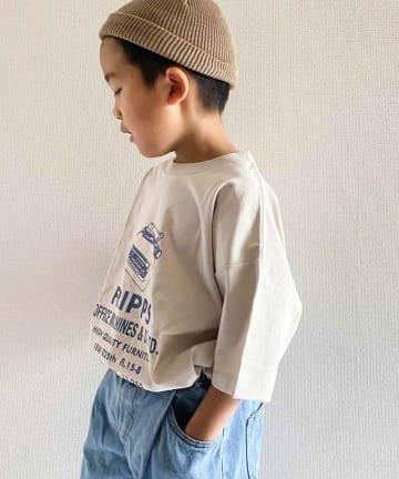 CIAOPANIC TYPY(チャオパニックティピー) 【KIDS】USAコットンプリントTee