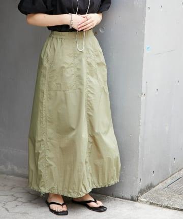 CIAOPANIC TYPY(チャオパニックティピー) シャカシャカ裾絞りスカート