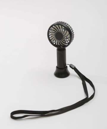 3COINS(スリーコインズ) 【熱中症対策】充電式静音ミニハンディファン
