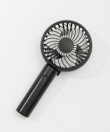 3COINS(スリーコインズ) 【熱中症対策】充電式静音ハンディファン