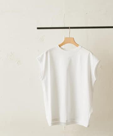 LIVETART(リヴェタート) 《handvaerk》クルーネックノースリーブシャツ