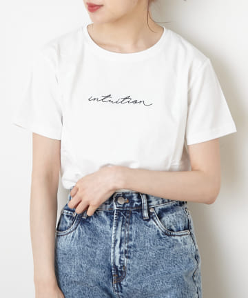 NICE CLAUP OUTLET(ナイスクラップ アウトレット) カジュアルロゴTシャツ