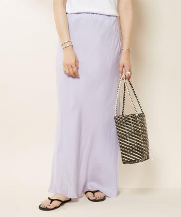SHENERY(シーナリー) キュプラフィブリルマーメイドマキシスカート