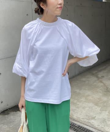 CAPRICIEUX LE'MAGE(カプリシュレマージュ) パフスリーブSET Tシャツ