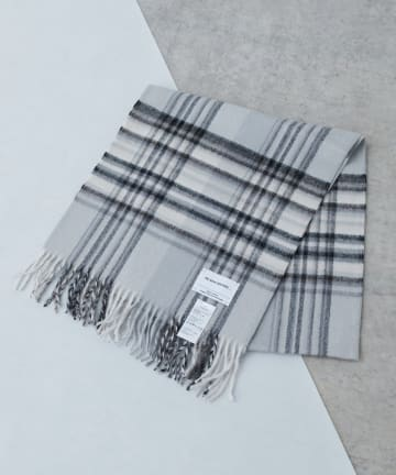 Lui's(ルイス) 【THE INOUE BROTHERS】 Check Brushed Scarf
