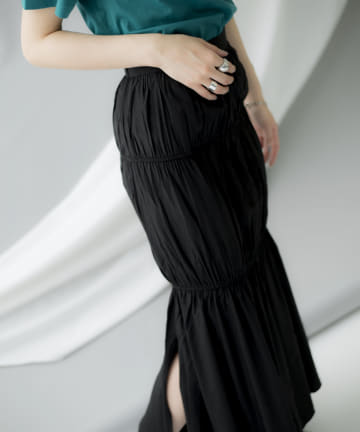 mona Belinda(モナ ベリンダ) 《期間限定タイムセール》2ドロストスカート