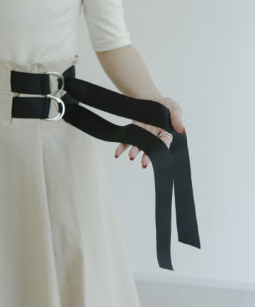 mona Belinda(モナ ベリンダ) 《期間限定タイムセール》ウエストベルトカーゴスカート