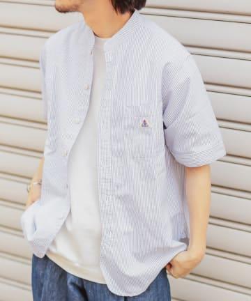 CIAOPANIC TYPY(チャオパニックティピー) 【GEVACO / ゲバコ】バンドカラーシャツ