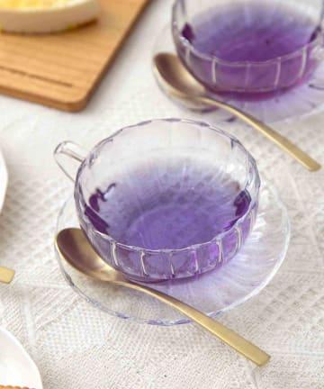 3COINS(スリーコインズ) 【TEA TIME】耐熱カップ&ソーサー