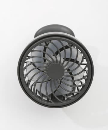 3COINS(スリーコインズ) 【熱中症対策】充電式ハンズフリークリップファン