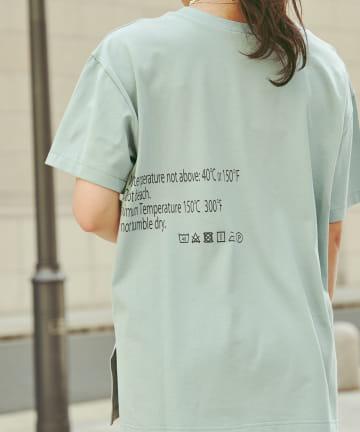 Chez toi(シェトワ) 【WEB限定】care label ロゴT