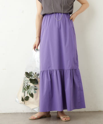 Omekashi(オメカシ) ヘムギャザースカート