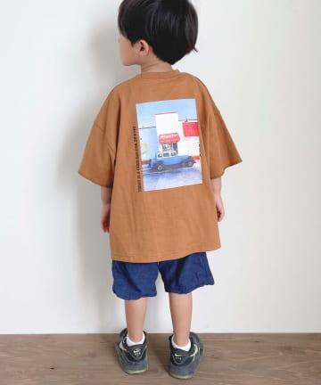 CIAOPANIC TYPY(チャオパニックティピー) 【KIDS】USAコットンバックフォトTee