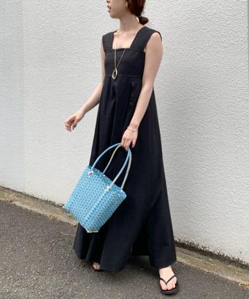 SHENERY(シーナリー) バックシャンリネンサマードレス