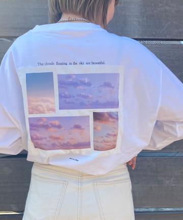 Lattice(ラティス) 《しふぉんコラボ》ロングTシャツ