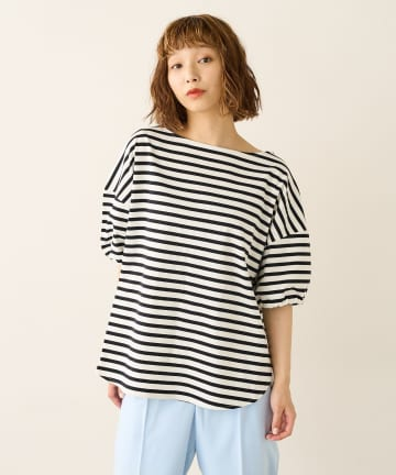 Lui's(ルイス) 半袖ボーダーTシャツ
