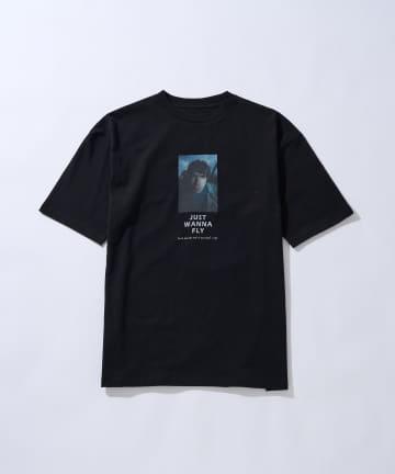 CIAOPANIC(チャオパニック) KENJI KUBO フォトグラフィックプリントTシャツ/OASIS/バンドTシャツ