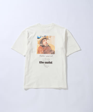 CIAOPANIC(チャオパニック) KENJI KUBO フォトグラフィックプリントTシャツ/Pete Doherty/バンドTシャツ