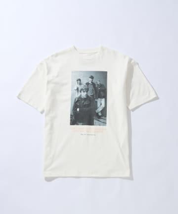 CIAOPANIC(チャオパニック) KENJI KUBO フォトグラフィックプリントTシャツ/Blur/バンドTシャツ
