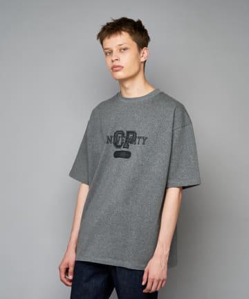 CIAOPANIC(チャオパニック) CP University カレッジロゴプリントTシャツ