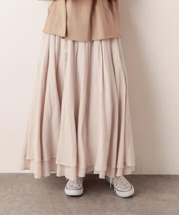 pual ce cin(ピュアルセシン) インドコットンボイルスカート