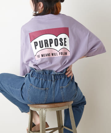 NICE CLAUP OUTLET(ナイスクラップ アウトレット) PURPOSEロゴT