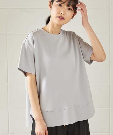 OUVRAGE CLASSE(ウヴラージュクラス) 切替Tシャツ【オンラインストア限定販売】